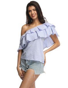 Off Shoulder Multi style t-shirt