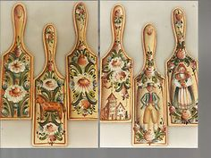 Jo Sonja Jansen | Details about DESIGN BY JO SONJA JANSEN SWEDISH BUTTER PADDLE FOLKART ...