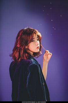 IU 180104 official 2018 calendar Behind Korean Actresses, Korean Actors, Actors & Actresses, Iu Short Hair, Short Hair Styles, Iu Hair, Kpop Hair, Poses, Korean Girl