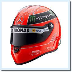 Please check my new listing on eBay! #f1 	  Michael Schumacher F1 Ferrari Formula1 GP Mercedes One Helmet Racing Japan Rar