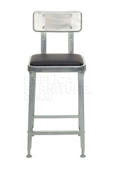 Robot Industrial Bar Stool -- These retro metal stools are best known as the Robot Industrial Bar Stool. For a vintage metal look with a twist, these Industrial bar stools will suit your chic café or warehouse style aallowing the legs to completely fit under the bench.--199.0000