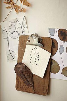 hannah nunn clipboard of ideasideas. Photo by Alun Callender