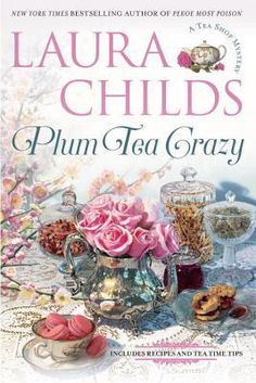 Plum Tea Crazy by Laura Childs is the 19th A Tea Shop Mystery.  Take a look at my review of this new cozy mystery.  The cover is just lovely.  Happy Reading!