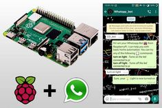 WhatsApp Automation on Raspberry Pi using Python
