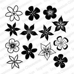 BoBS: Impression Obsession Clear Stamp Set: Bunch of Blossoms
