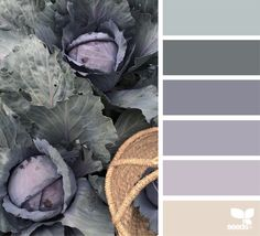 Mixed colour scheme for bedroom re-design. I'm using a colour similar to 4 as the wall colour.