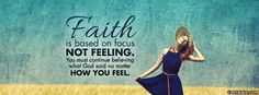 Believe No Matter How You Feel - Facebook Cover Photo