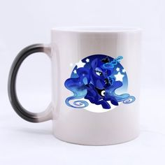Cartoon My Little Pony Princess Luna Custom Morphing Coffee Mug Tea Cup 11 OZ Office Home Cup Printed on two sides * Visit the image link more details.  This link participates in Amazon Service LLC Associates Program, a program designed to let participant earn advertising fees by advertising and linking to Amazon.com.