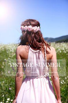 NEW Dream Maxi Dress, Vintage Summer Dress, Boho dress, Bohemian dress, Floor lenght, Bridesmaids dress, Wedding dress, Engagement dress by VintageSummerFashion on Etsy https://www.etsy.com/listing/242262097/new-dream-maxi-dress-vintage-summer