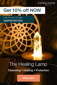 No matter what problems you face during day-to-day life, Clear Quartz, the all-healer, can help. Now you can light your room with the same healing energy that lights your soul.  Use the healing lamp in your bedroom or living room to create feelings of positive energy in the places you spend the most time.  Use code IAMPROTECTED to get 10% OFF Sitewide!  Crystal jewelry, necklace, pendants, bracelets, energy healing, health and wellness, meditation, self improvement, rings, cleansing, crystal Crystal Healing Stones, Healing Crystal Jewelry, Stones And Crystals, Ariana Grande Perfume, Chakra Crystals, Can Lights, Evil Spirits, Self Improvement, Clear Quartz