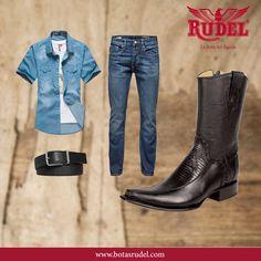 ¿Con qué combinarías estas botas? #EstiloRudel #RudelVaBien.  BOTÍN LIZARD Caballero Botín Botero Floreta Y Talón G. Lizard Corte Piel Res Producto Artesanal Fabricado Por Manos Mexicanas.  #Boots #BotinLizard #vaquera #Rudel #caballero #cowboy #cowboys #western #style #hechoenmexico #mexico #artesanal #botas #vacaciones #vaquero #horse #vaqueros #fiestas #baile #viajes #mazamitla #ferias #familia #musica  #TradicionRudel #LaBotaDelAguila.