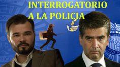 Gabriel Rufian INTERROGA y DEJA SIN PALABRAS al Director de la Policia N...