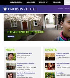 Emerson College is located in Boston, MA