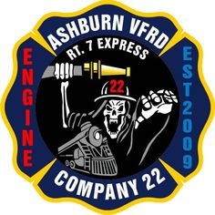 Ashburn Volunteer Fire and Rescue Department engine 22