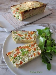 Terrine of fish to consume in entry or in dish, hot, warm or cold! healthy, light and balanced terrine Source by dietetdelicespro Salad Recipes Healthy Vegetarian, Vegetarian Main Dishes, Vegetarian Entrees, Healthy Salads, Cod Recipes, Eat Smarter, Food And Drink, Cooking, Indian Salads