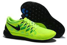 Cheap Nike Free 5.0 2014 Black Green Blue,www.freerundistance.com