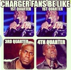 Sad but true! Me on Monday's game! We blew it, theres wrk to be done BUT still ❤ My Chargers