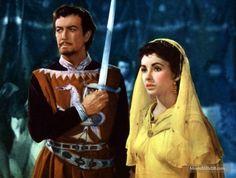 Ivanhoe (1952) Robert Taylor and Elizabeth Taylor