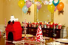 someday i want to do a charlie brown/peanuts themed birthday party