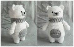 Amigurumi Polar Bear - free crochet pattern at How To Amigurumi