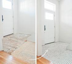 Hampton Niles 12x12 marble tile | Yellow Brick Home