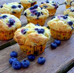 Manila Spoon: Blueberry Muffins