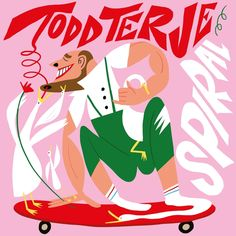 "Todd Terje is back with ""Spiral EP"" on Olsen Records"