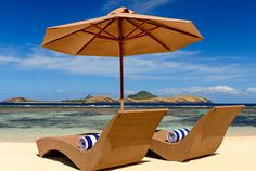 Sheraton Mamanuca Islands Hotels: Sheraton Fiji Resort & Spa, Tokoriki Island - Hotel Rooms at sheraton Fly Fiji airlines from Los Angeles, 10 hour trip new Airbus 330s