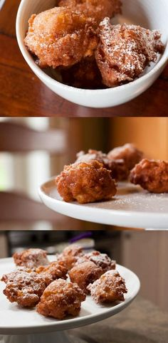 Homemade Apple Fritters - Made these last night. Pretty darn great. Fried w/ coconut oil!