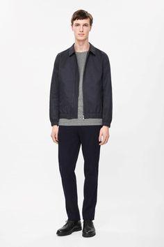 COS | Zip-up collared jacket