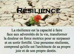 Résilience....