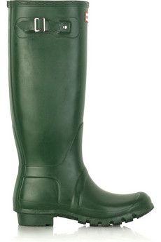 Original Tall Wellington boots by: Hunter @Net-a-Porter (Global)