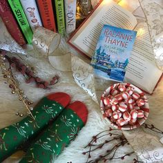 The first things my kids asked when I woke up this morning was if they could decorate the Christmas tree. So thats how were spending our day. What are you doing to finish off the weekend with a bang?  Thank you to @littlebirdpublicity for sending me Sugar Pine Trail. Ill put the synopsis below.  Thank you to @happysocks for sending me@l these adorable holiday socks. My daughter already claimed them as her Christmas socks this year.  SYNOPSIS: An unlikely attraction brings comfort joy and…