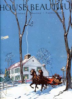 House Beautiful cover - November 1927