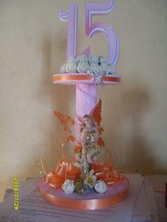 mesa principal para 15 anera | ... mucho más de Julio Arguello: Centros de torta para Bodas y 15 años