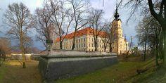 Zamek w Rzeszowie od strony płn.-zach.