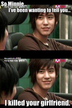 Sungmin and Kyuhyun. (Super Junior Drama)