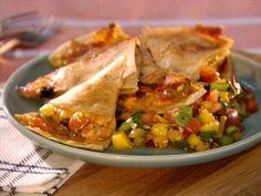 Chipotle Mango Quesadilla Video : Food Network - FoodNetwork.com