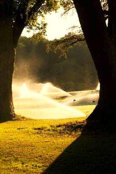 #golfcourse #france #sprinkler