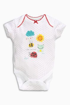 Buy Yellow Sunshine Short Sleeve Bodysuits Three Pack (0mths-2yrs) from the Next UK online shop