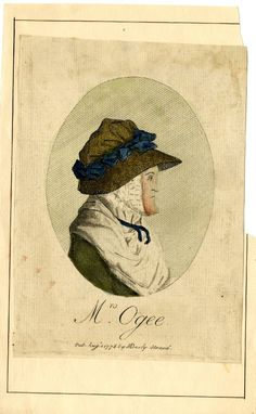 1776 Mrs Ogee, published by Matthew Darly, The British Museum, Museum number 1943,0410.1940