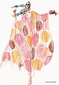 Luana Meneguetti Blog: Quando a moda e a arte se encontram...