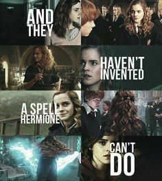 a spell Hermione can't do