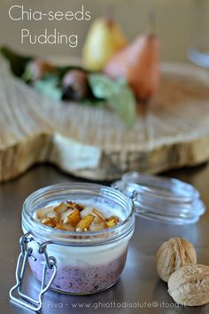Pudding di semi di chia: una colazione da regina!   Ghiotto di Salute