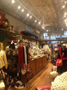 Very quirky shop.