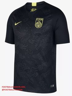 b3b46dd85 China 2018 2019 Black Nike Away Football Kit