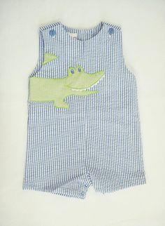 Petit Ami Alligator Sunsuit