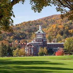 Fall. Omni Homestead Resort, Hot Springs, VA. #omnihomestead #omnihotels