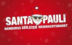 Santa claus : the best & most spectacular christmas markets around the world SPIELBUDENPLATZ , ST. PAULI , HAMBURG , GERMANY