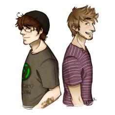 Michael and Gavin